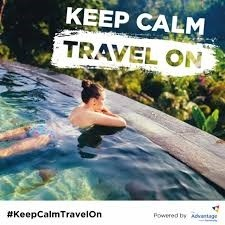 #KeepCalmTravelOn