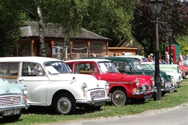 Classic Car Show at Amberley Museum, West Sussex
