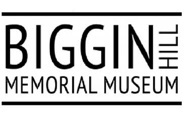 White background, black writing, logo for Biggin Hill Memorial Museum