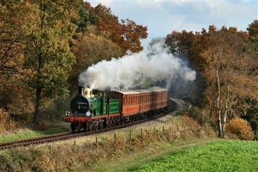Bluebell Railway ~ Steam & Cream