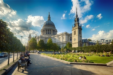 St Pauls Cathedral & 2-course Lunch