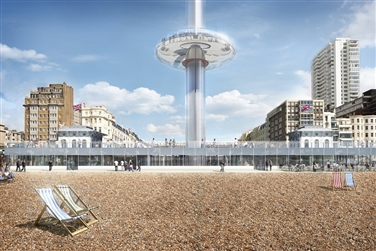 Brighton i360, Pavilion & 2-course set lunch