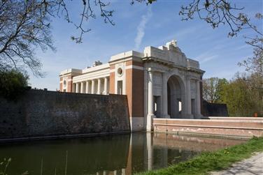 Ypres, War Graves & Last Post via tunnel