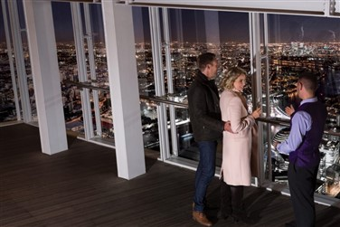 The View from The Shard at Christmas