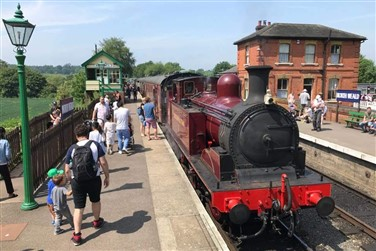Epping Ongar Railway with Fish & Chip Lunch