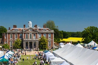 Stansted Park Garden Show inc. Stansted House