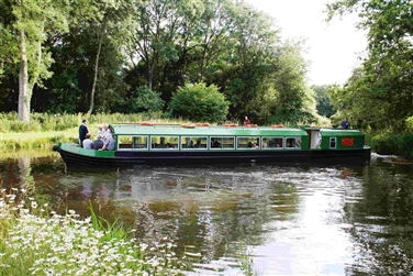 Wey & Arun Canal inc. Old Barn Garden Centre